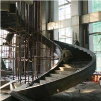 Buy cheap Large Pre Engineering Steel Spiral Staircase Solid I Beam Shock Resistance from wholesalers
