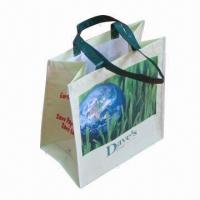 China Lamination R-PET Shopping Bag, Customized Designs are Accepted wholesale