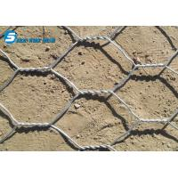 China Galvanized and pvc coated bird animal cages hexagonal wire mesh / chicken wire mesh wholesale