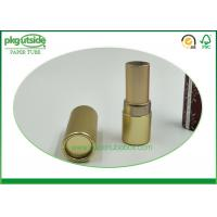 China Lip Stick Packaging Cylinder Cardboard Box , Card Tube Packaging  Eco - Friendly on sale
