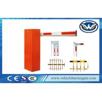 China Highway Cold Roll Plate Toll Barrier Gate With Long Range RFID Reader System on sale