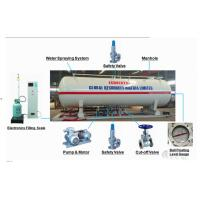 Buy cheap 16 metric tons skid lpg gas filling plant for Nigeria Africa, 16MT mobile skid-mounted propane gas refilling station from wholesalers