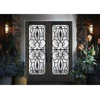 China Professional Iron Glass Entry Doors For Building Sound Insulation on sale