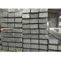 S355JR Material Mild Steel Angle Bar With Hot Rolled Heating / Drilling Hole