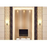 China Economical Strippable Room Decoration Wallpaper Non Woven Wallcovering Roll wholesale
