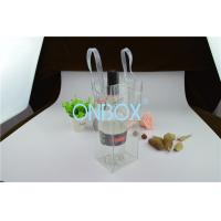 Clear Transparent PVC Packaging Bags Custom Printing Logo For Travelling Manufactures