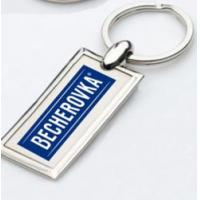 China promotional clear custom blank souvenir plastic photo frame key chain picture insert logo on sale