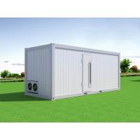 Commercial Industrial Movable Container Cold Room For Fish , Seafood Manufactures
