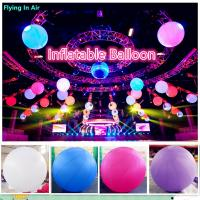 Hot Inflatable Led Light Giant Inflatable Ball for Concert and Stage Manufactures