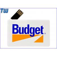 180 Degree Twisting Spin Credit Card Style USB Flash Memory Full Protection Manufactures