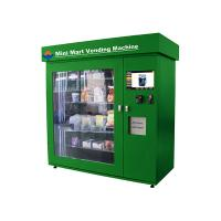 Snack / Beer Industrial Vending Machines with 19 Inch Touch Screen Display Manufactures