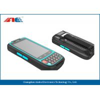 China 13.56MHz RFID Handheld Readers RFID Mobile Terminal With Anti Collision Algorithm on sale