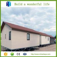 China Low cost and high quality steel framed prefab house modern design on sale