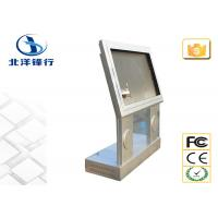 Steel Metal Self Service Interactive Touch Screen Kiosk Machines For Advertising Manufactures