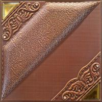 Model Style Square 3D Leather Wall Panels With Natural Material Manufactures