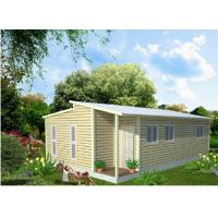 China Prefabricated Light Steel Frame Australian Granny Flats , One Slope Roof House wholesale