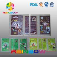 Customized PVC  Shrink Sleeve Labels For Plastic Bottle Packaging Manufactures