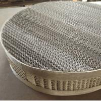 China 125X/Y, 250X/Y Stainless Steel Structured Packing|Wire Mesh Distillation Column Packing on sale