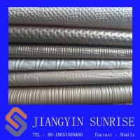 Embossed 1.1mm Decorative Leather For Furniture / Garment / Gloves Manufactures