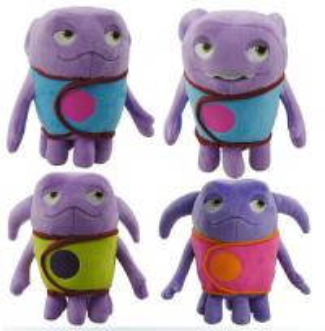 China Oh New 2015 Dreamworks Movie Home Boov Asst Cartoon Stuffed Plush Toys wholesale