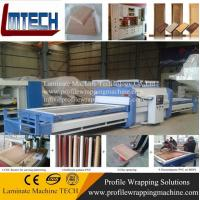 PVC wooden door laminating machine/Wood veneer vacuum membrane press machine for door/hot vacuum membrane press machine Manufactures