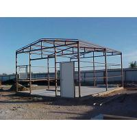 Q235 / Q345 Movable Agricultural Steel Frame Buildings Pre Engineered Steel Structure Manufactures