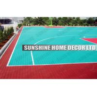 Anti Uv PP Synthetic Interlocking Sports Flooring For Football Field Manufactures