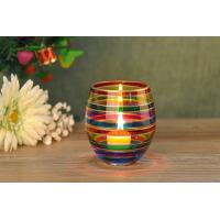 China Home Wedding Decorative Glass Candle Holder Popular Christmas Gift on sale