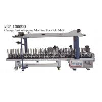 China MBF-L300SD fast change profile wrapping machine (cold melt) wholesale