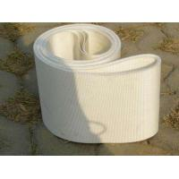 Food Grade Endless Material Handling Conveyor Belt PVC / Polyurethane White Color Manufactures