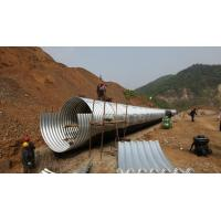 Panel CE Culvert Pipe Making Machine , Wall Sheet Steel Silo Corrugated Roll Forming Machine Manufactures