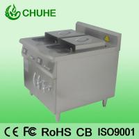 China Counter restaruant 2 tank 4 basket deep fryer with 8kw on sale