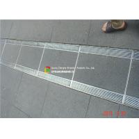 China 316 / 304 Stainless Steel Bar Grating High Bearing For Trench Cover on sale