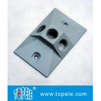 OEM Vertical Aluminum Rectangular Weatherproof Electrical Boxes Cover Manufactures