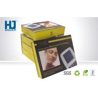 Product Display Cardboard packaging Boxes With Printing , Flat Pack Gift Boxes