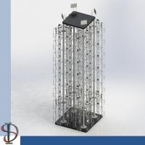 China DVD Display Rack / Greating Cards Spinner / Wire Pocket Display Rack / Magazine Metal Display Stand / Books Rack / wholesale
