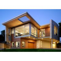 Luxurious Prefabricated Steel House / Light Steel Frame Prefab Metal House ETC Manufactures