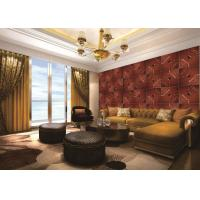 Guangdong Texture Interior Decorative Faux PU Leather Wall Panels For Living room