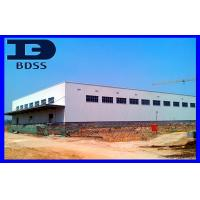 Light Weight Long Span Steel Structures High Strength With Steel Canopy Manufactures