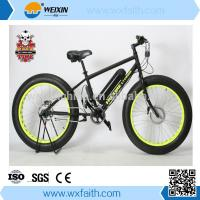 China 2015 New Design Fat tire electric bike, fat tire electric bicycle wholesale