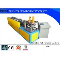 U Angle Roll Forming Machine , 6000x800x1200mm Size Metal Forming Machinery Manufactures