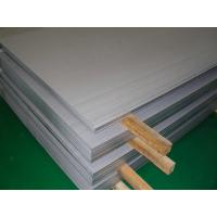 China 321 Cold Rolled Stainless Steel Sheet Brushed SS Plate 1000MM / 1219MM Width wholesale