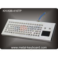 Desktop Metal IP65 Rate waterproof keyboard with touchpad 416 x165 mm Front panel Manufactures