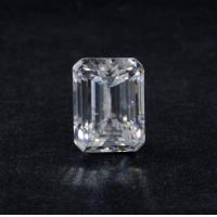 Buy cheap Genuine 3 Ct VVS1 Emerald Cut DEF Super White Loose Moissanite Diamond 9x7 Mm from wholesalers