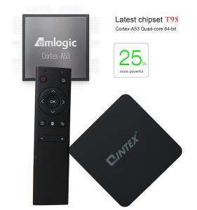 S905 4k T9S android tv box Lollipop 5.1 android smart tv box quad core with QINTAIX/QINTEX TV BOX