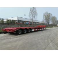 60ton Low loader trailer for heavy equipment transport truck and trailer for sale Manufactures
