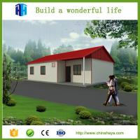 China easy assembly steel frame prefabricated house with sleeping rooms on sale
