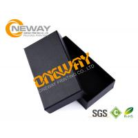 China Black Personalised Cardboard Boxes Bow Tie Gift Boxes Printing With Window on sale