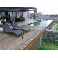 Transparent SGP Balustrade Glass Fence Panels , Heat Toughened Safety Glass Manufactures