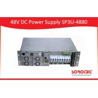 Rectifier Modular 48V DC Power Supply SP3U -4880 Single Phase 220v AC input Manufactures